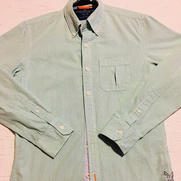55cf5d6441 American Eagle Outfitters Shirts | Mens American Eagle Button Down ...